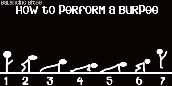 how to perform a burpee