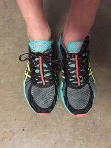 Asics Gel Fujiracer running shoe