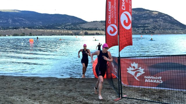 leading pro women at challenge penticton
