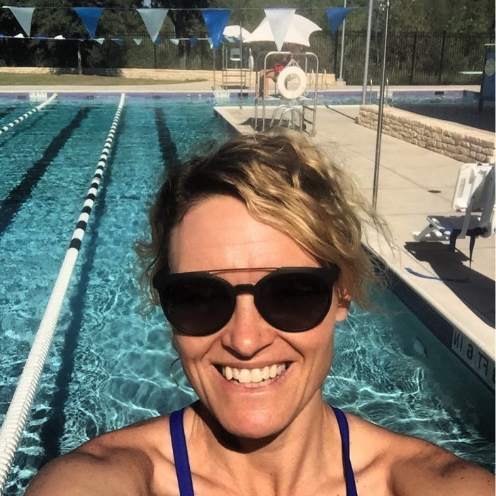 lap swimming in austin Bartholomew pool