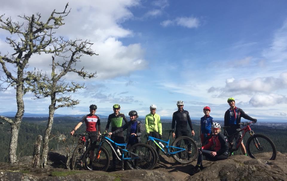 2018 Junior Mountain bike camp at Bear Mountain Canada Cup