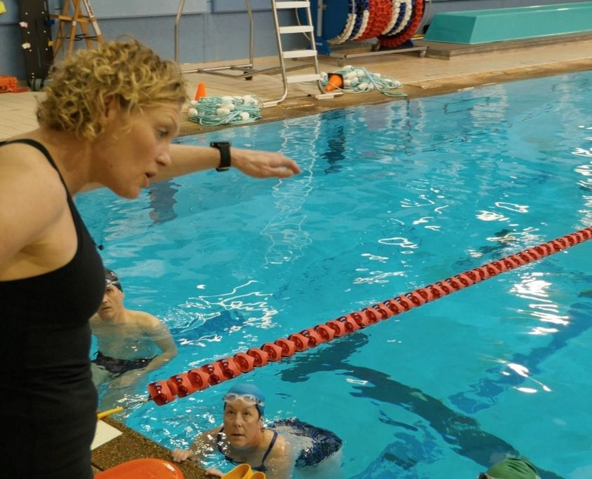 MelRad Multisport triathlon swim coaching